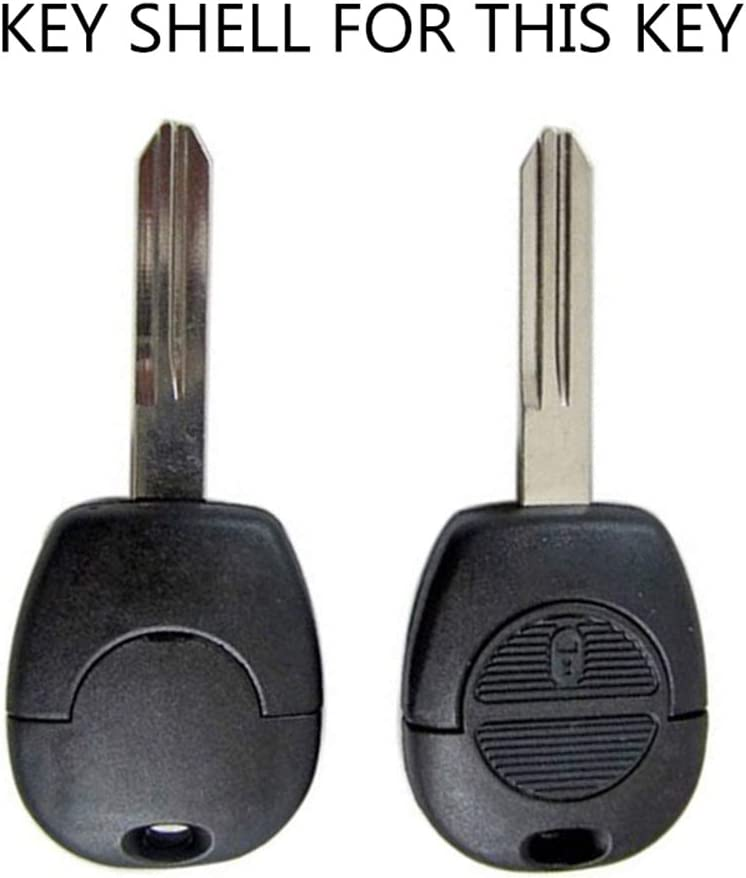 2 Tasten Autoschlüssel Ersatz Fernbedienung Gehäuse Für Nissan Micra Almera Primera X Trail Navara Patrol Maxima Vanette Schlüsselanhänger Gehäuse Reparatur Kit Mit Schalter Auto