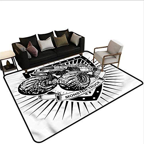 Modern,Non-Slip Modern Carpet 24