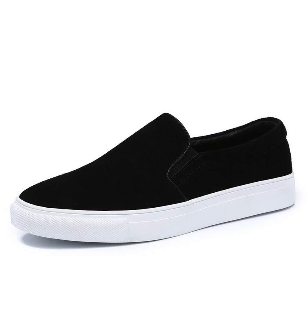 YAN Herren Schuhe Wildleder Frühjahr/Herbst Loafers & Slip-Ons Wasserdicht Schwarz/Party & Abend/Comfort Loafers