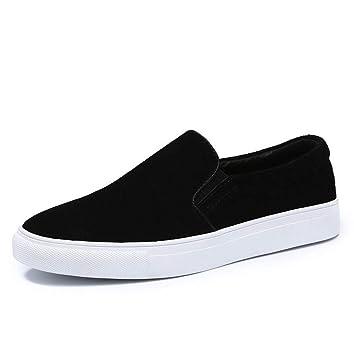 YAN Zapatos de Hombre Gamuza Mocasines/Slip-Ons de Primavera/Mocasines Impermeables/Fiesta y Noche/Comfort Mocasines: Amazon.es: Jardín