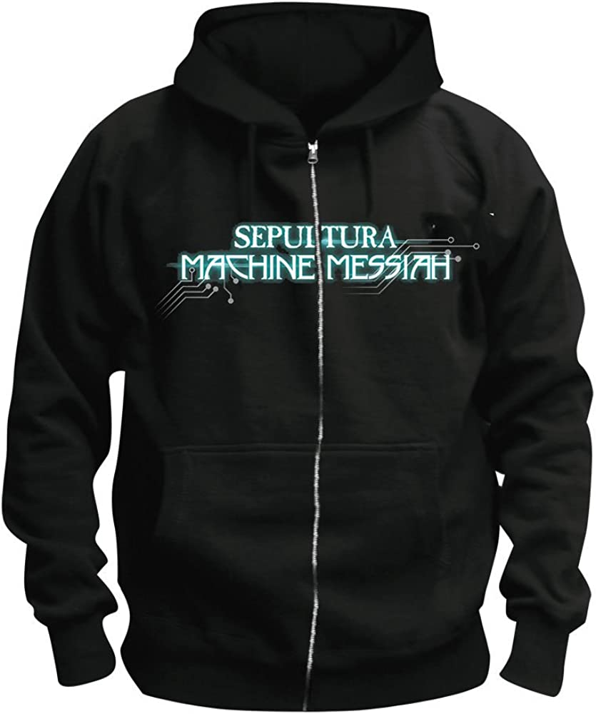 Sepultura Kapuzenjacke//Zipper Machine Messiah