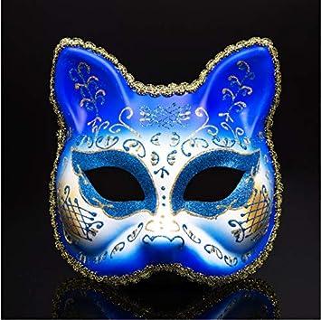 Fiesta de Disfraces de Carnaval de Halloween Máscara de Media Cara ...