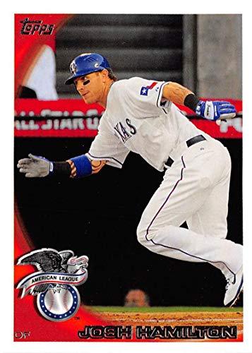 2010 Topps Update Baseball #US-140 Josh Hamilton Texas Rangers Highlights and Traded Trading Card