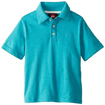 Quiksilver Little Boys' Get It Polo, Baltic, 3