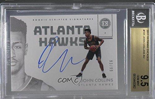 - John Collins Graded BGS 9.5 GEM MINT #93/99 (Basketball Card) 2017-18 Panini Encased - [Base] #165