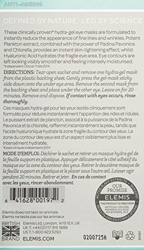 41GIL7NXk9L ELEMIS Pro-Collagen Hydra-Gel Eye Masks, Eye Masks for Fine Lines, 6 Masks
