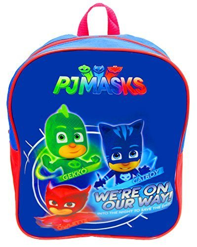 Original PJ Masks Backpack Official Licensed, Preschool Backpack 325489