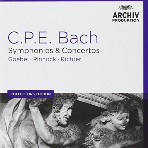 Price comparison product image Coll. Ed.: C.P.E. Bach: Symphonies & Concertos [6 CD]