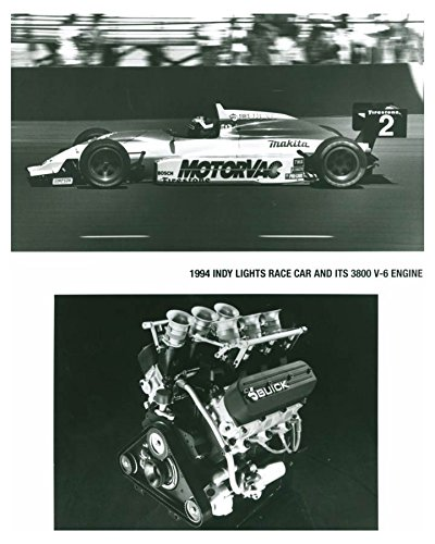 1994 Buick Indy Lights Race Car 3800 V6 Engine Automobile Photo Poster