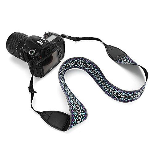 YSINOBEAR Camera Strap Camcorder Neck Shoulder Belt Bohemia Strap for All DSLR Camera Nikon Canon Sony Olympus Samsung (Style 10)