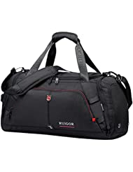 Swiss Ruigor 6407 Water Resistant Carry On Travel Duffel Bag and Gym Sports Bag with Shoes Compartment - 8.5 Gallons...