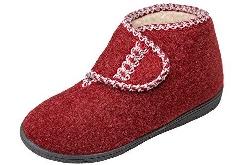 Pantofole Gibra Donna Gibra Bordeaux Pantofole 5EqSn0WS