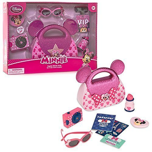 [Official Disney Minnie Mouse Popstar Purse Playset by Disney] (Barbie Pop Princess Costume)