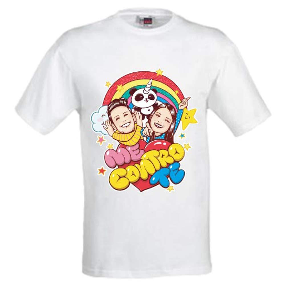 T-Shirt Mezza Manica Me Contro Te SOFI E Lui (9-10 Anni)