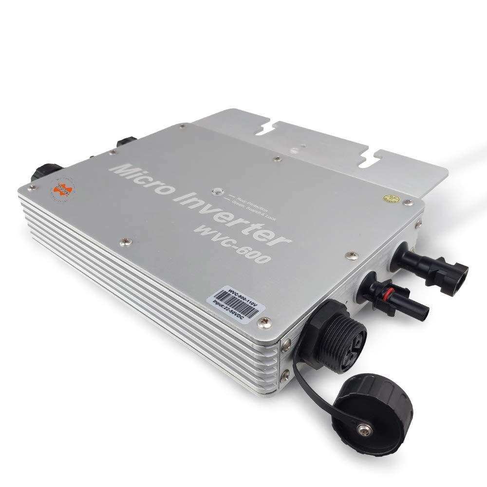 Marsrock Waterproof 600W Micro Grid Tie Solar PV Inverter
