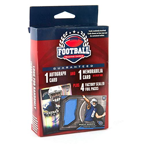 Football Cards 16 Football Value Add Autograph RELIC - Relic Football