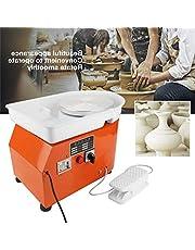 Cay2T - Máquina Formadora De Ruedas De Cerámica, Máquina De Cerámica, Herramienta De Formación De Cerámica, Máquina De Cerámica De Lavabo Lavable con Pedales Artesanías De Arcilla DIY 350W-nice