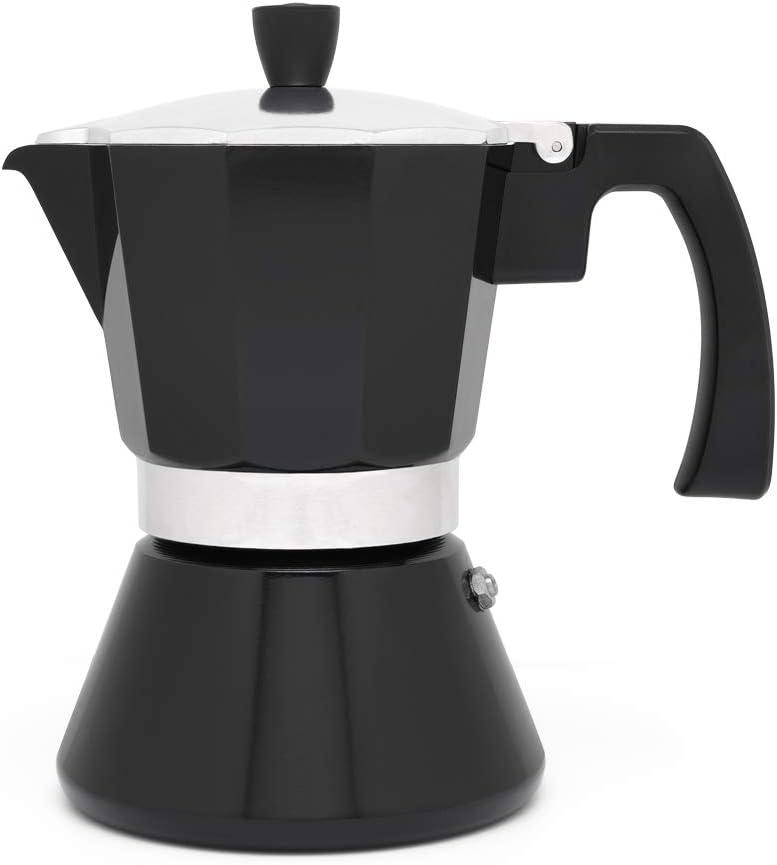 Amazon.com: Leopold Cafetera Espresso 6 tazas Tivoli-Negro ...