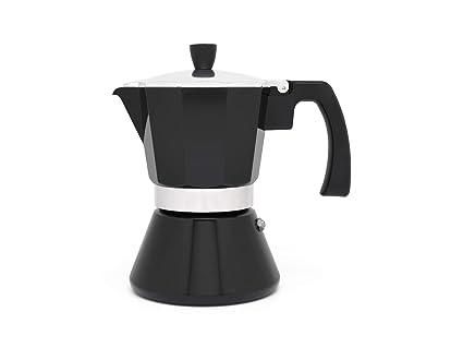 Leopold Cafetera Espresso 6 Tazas Tivoli-Negro (Induccion ...