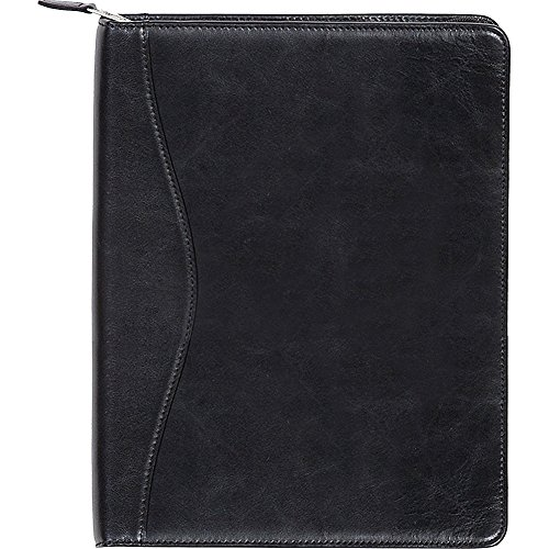 Scully Zip Around Letter Pad (Black) by Scully