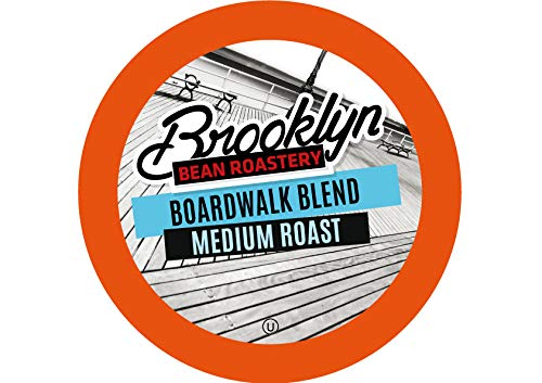 Brooklyn Beans Boardwalk Blend Coffee Pods for Keurig K Cups Coffee Maker, 40 Count