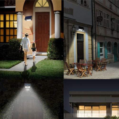 FidgetFidget Sensor Lights Walkway Garden Lamps High Power Waterproof Solar Power LED Motion