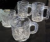 Batman Forever - 1995 McDonald's Glasses - Cups