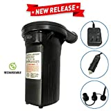 Best Rechargeable Air Pumps - EasyGo Rechargeable Air Pump - 110-120 Volt Review