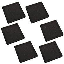 HQRP 6-pack Foam Filter for API Rena Filstar xP Aquarium Filters 30 ppi Mechanical Filtration + HQRP Coaster