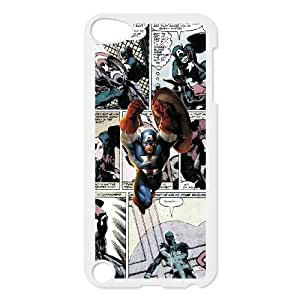 iPod Touch 5 phone cases White Marvel comic Phone cover DSW1906952