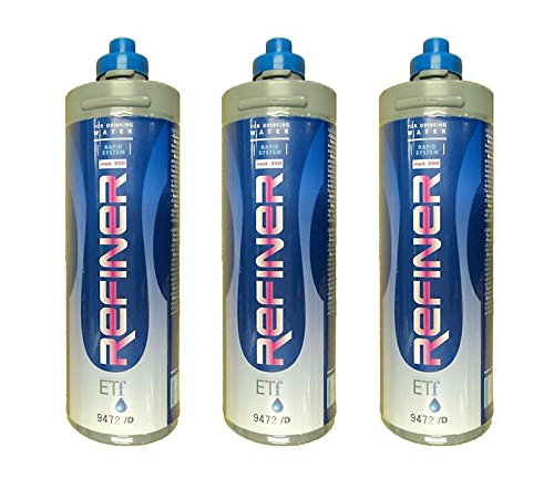 Novacqua - Filtri Refiner Rs250 0, 5 Micron Lt. 5000 Kit 3 Pezzi