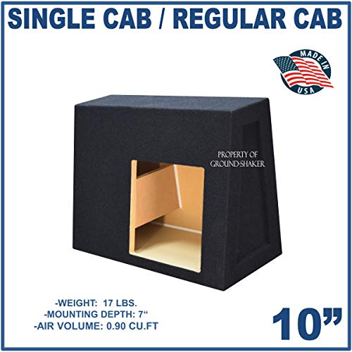 Fits Regular Cab/Single cab Trucks 10