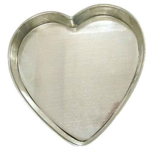 Heart Shaped Flan/Tart Pan with Removable Bottom - 12