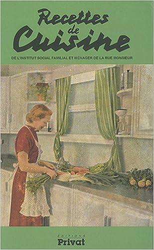 Recettes De Cuisine De L Institut Social Familial Et Menager De