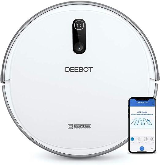 Ecovacs Deebot 710 - Robot Aspirador, mapeo cámara, App, Wifi ...
