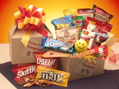 Treats for Troopers Snack Package - We Will Ship This to -