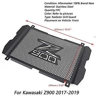 Z900 Motorcycle Radiator Grille Guard Protective Cover For Kawasaki Z900 2020 2020 2020: Automotive