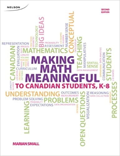 Making Math Meaningful to Canadian Students K-8: Marian