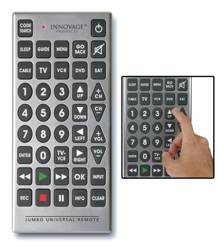 Innovage Jumbo Remote Control with Window Box (Discontinued by Manufacturer)