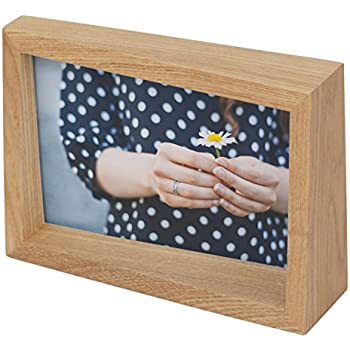 Amazon Com Umbra Edge Wooden 4x6 Picture Frame And Photo