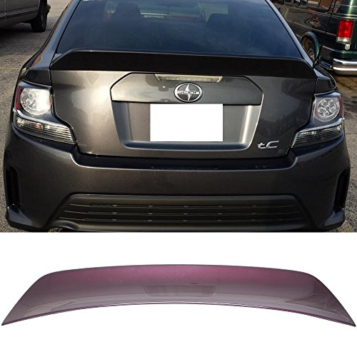 - Pre-painted Trunk Spoiler Fits 2011-2015 Scion TC | RS Style ABS Painted # 3R0 Sizzling Crimson Mica Boot Lip Deck Lid Rear Spoiler Wing Other Color Available By IKON MOTORSPORTS | 2012 2013 2014