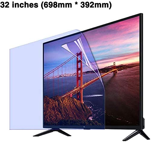 OLED /& QLED 4K HDTV Screen Filter,Clear LED Non-Glare Anti-Blue Light Ultra-Clear Eye Protection for LCD BYCDD 32 Inches TV Screen Protector