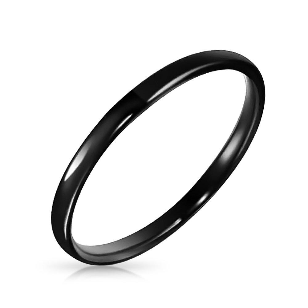 Bling Jewelry Damen-Ring Wolframcarbid FJ-TUR160BP-2m FJ-TUR-160-2-PAR
