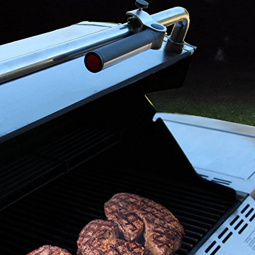 Light Accents Battery Operated LED Barbecue Light - BBQ Light, Aluminum clamp