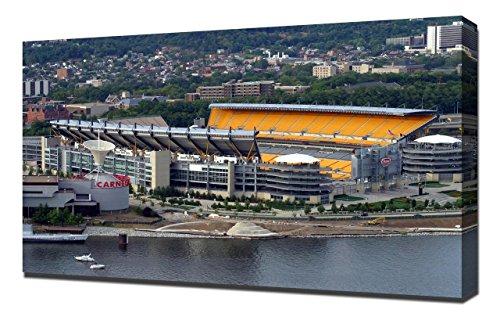 Pittsburgh Steelers Heinz Field Stadium - Canvas Art Print - Wall Art - Canvas Wrap