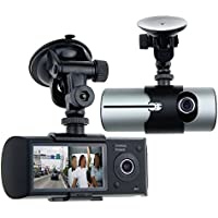 Awolf 2.7 Dual Lens Dash Cam Car DVR Vehicle Camera Video Recorder Car Camera with GPS Module G-Sensor