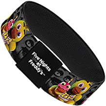 FIVE NIGHTS AT FREDDY'S Elastic Bracelet - Chica Plushie Face