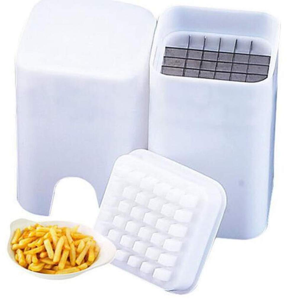 Chip Cutter,Potato Cutter Stainless Steel Potato French Fries Sharp Blade Vegetable Cutter For Home Picnic Fast Food