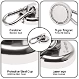 Ant Mag Carabiner Magnetic Hooks 110LBS Heavy Duty