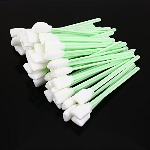 Clean Cotton Swab Inkjet Printers Photo Machines Green Sponge 13cm